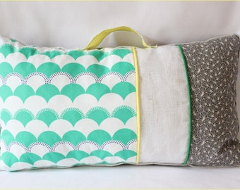 "cushion geometric ""Clara"""