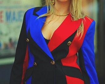 SALE! 90s Colour Block Blazer