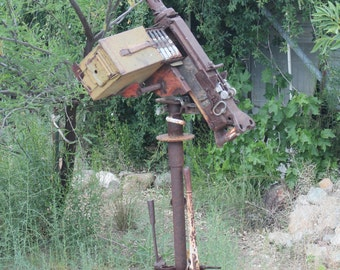 50. cal Machine Gun....sculpture