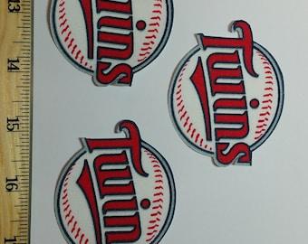 Minnesota Twins Patch, Minnesota Twins Iron On, Minnesota Twins Applique, Minnesota Twins Patches, Minnesota Twins Appliques, Twins