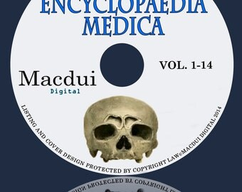 Encyclopaedia Medica 1899 Vol.1,2,3,4,5,6,7,8,9,10,11,12,13,14 PDF 14 E-Books on 1 DVD