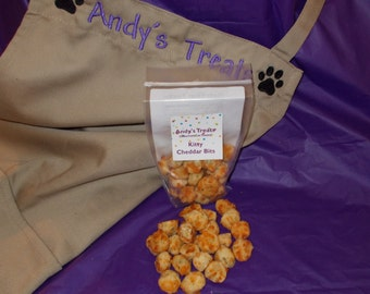 Gourmet Cat Treats - Kitty Cheddar Bits