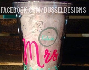 Future Mrs Tumbler - Personalized Wedding Tumbler