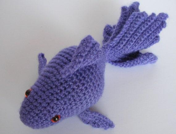 Free Amigurumi Halloween Crochet Patterns : Amigurumi Fish Crochet Fish Amigurumi Goldfish Amigurumi