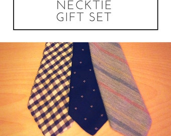 Hand selected tie giftset