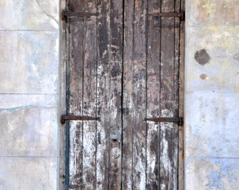 Old Wooden Door- French Quarter, New Orleans