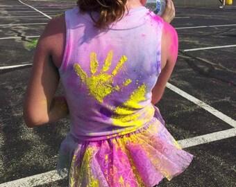 Run Princess Color Run Tutu