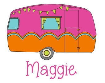 Personalized Custom Monogram Camper Shirt by Living Water Press