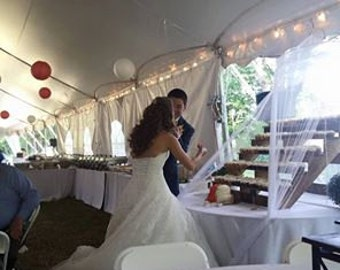 Five Tier Cupcake Stand- Weddings/Parties