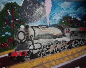 Steam Smoke Train