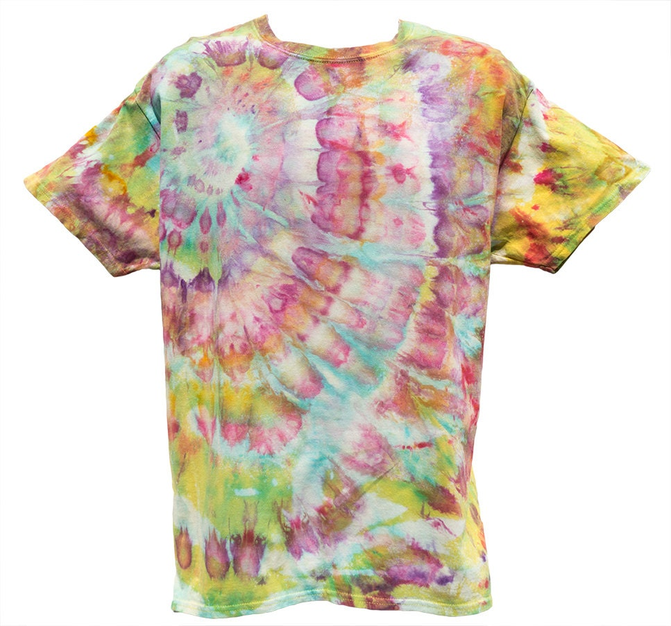 tie dye psychedelic t shirt s large