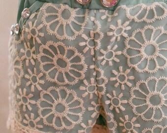Flower Lace Shorts