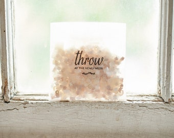Wedding Confetti Bags // The Agnes