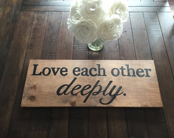 Items Similar To Live Simple Love Deeply On Etsy
