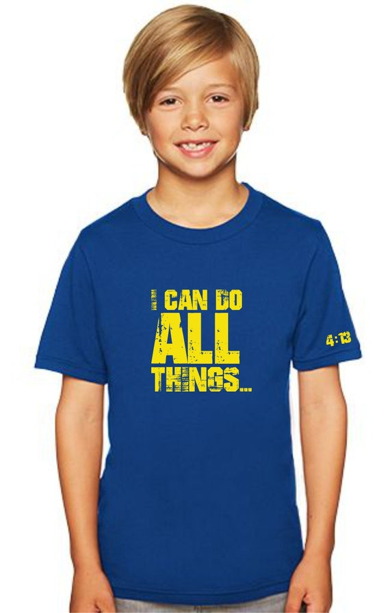 I Can Do All Things Shirt 413 Stephen Curry Inspired