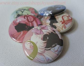 Sailor Scout Buttons set #1