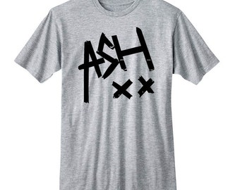 Ash XX Shirt, Ashton Irwin 5SOS Band Shirt, 5 Seconds of Summer T-Shirt, Fangirl Shirt, Black Grey White Premium Unisex Ladies Junior Tshirt