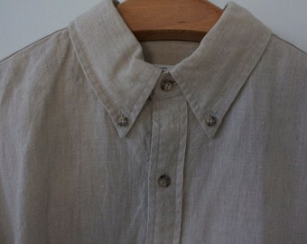 Vintage Brooks Brothers linen shirt with tags