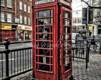 Photograph: Phone Booth; London; Icon; England