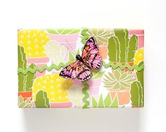 Cactus Gift Wrap