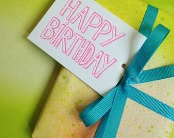 Hang Tags - Happy Birthday