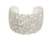Rhizome Cuff (3D printed nylon)