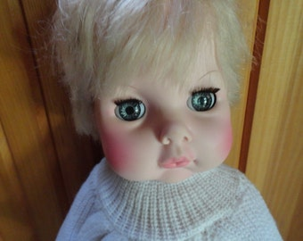 19 Inch Softina Baby Doll by EeGee From The 1970s