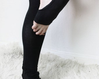 templar // high waist stirrup leggings