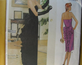 Vogue UNCUT size 8 Bellville Sassoon Designer Original Pattern # 1275