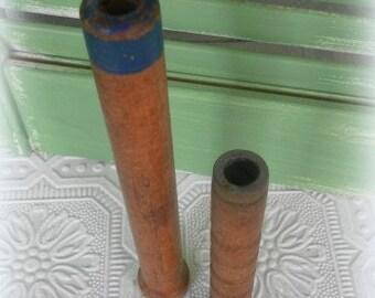 Vintage Country Prim Wooden Spools, Country Decor,Prim Decor,Vintage Decor