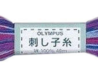 Olympus Sashiko Thread 22yd Cobalt Blue  Floss