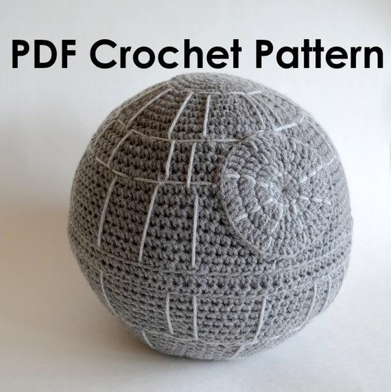Death Star Amigurumi Pattern : Star Wars Death Star Crochet Amigurumi PDF Pattern
