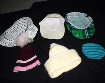 Doll Hat Lot