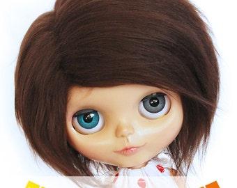 """Blythe Doll wig 10"""" Short Pick Your Color fake fur wig  MonstroDesigns"""