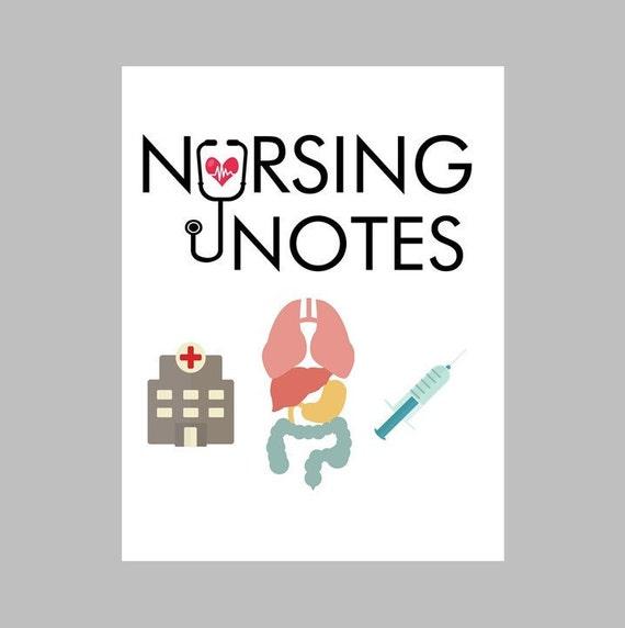 Items similar to Nursing PRINTABLE Binder Cover