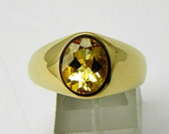 Resultado de imagen para golden beryl rings