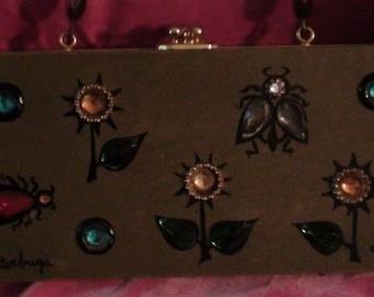 Enid Collins glitterbugs bag, vintage