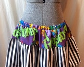 MOVING SALE Goosebumps Plus Size Ruffle Mini Skirt