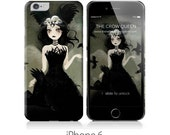 Phone Case - The Crow Queen - iPhone 5 - iPhone 6 - Samsung Galaxy