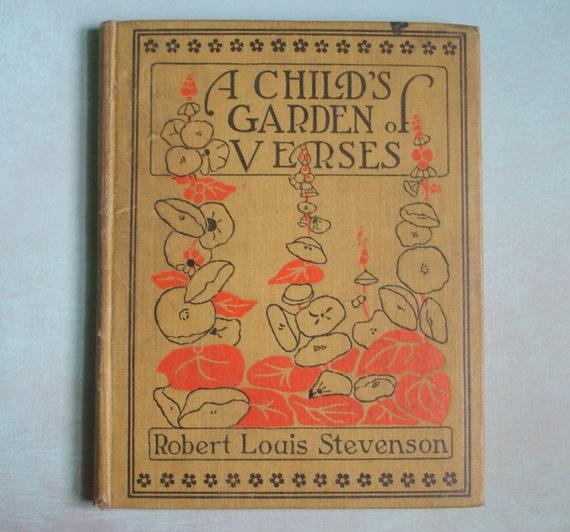 Beautiful 1916 A Child 39 S Garden Of Verses Robert Louis