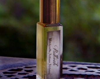 """RUTHVAH Elixir of Love """"Luxuriously Master Crafted""""™ Roll-On Perfume Oil by Witchcrafts Artisan Alchemy in Black Velvet Gift Bag"""