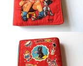 Tiny Tots handmade quilted book