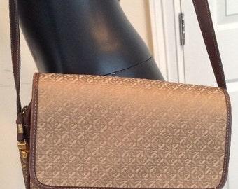 Loewe Bag Purse Cross Body Shoulder Monogram Canvas Cloth Leather Logos