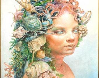 Portrait of a Siren (print)
