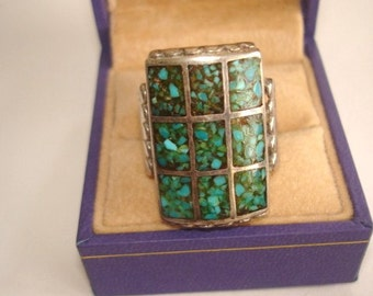 Turquoise Sterling Jewelry Ring