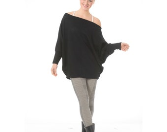 Maternity tunic top, Maternity oversized tunic, Plus size top, Maternity clothes, Off the shoulder sweater, plus size maternity clothes