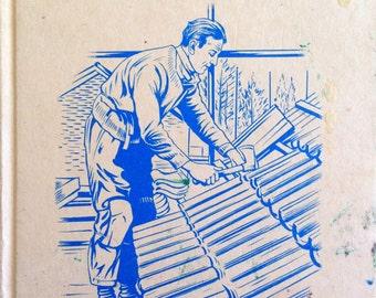 1965 THE BUILDER A LADYBIRDA Book