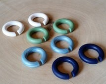 BOGO SALE -Mini Hoop Plugs - buy 3 get 1 free - pick your colors