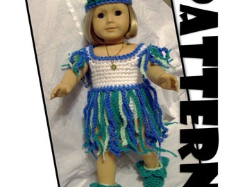 Crochet Pattern: Elf Princess for American Girl and similar 18 inch dolls