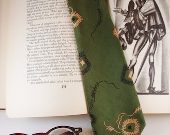 Tie - Necktie - Silk - Arrow Brand - Circa 1950's-1960's - FREE Shipping in the US and Canada - Discounted Worldwide